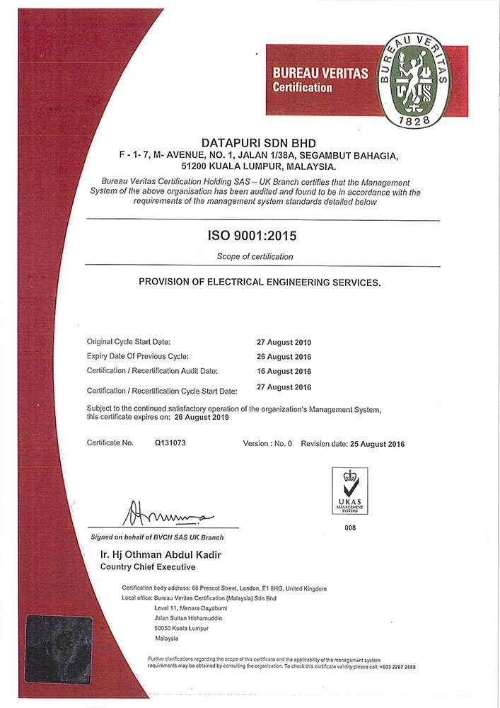 Mechanical electrical engineering gadang holdings berhad - Bureau veritas head office ...